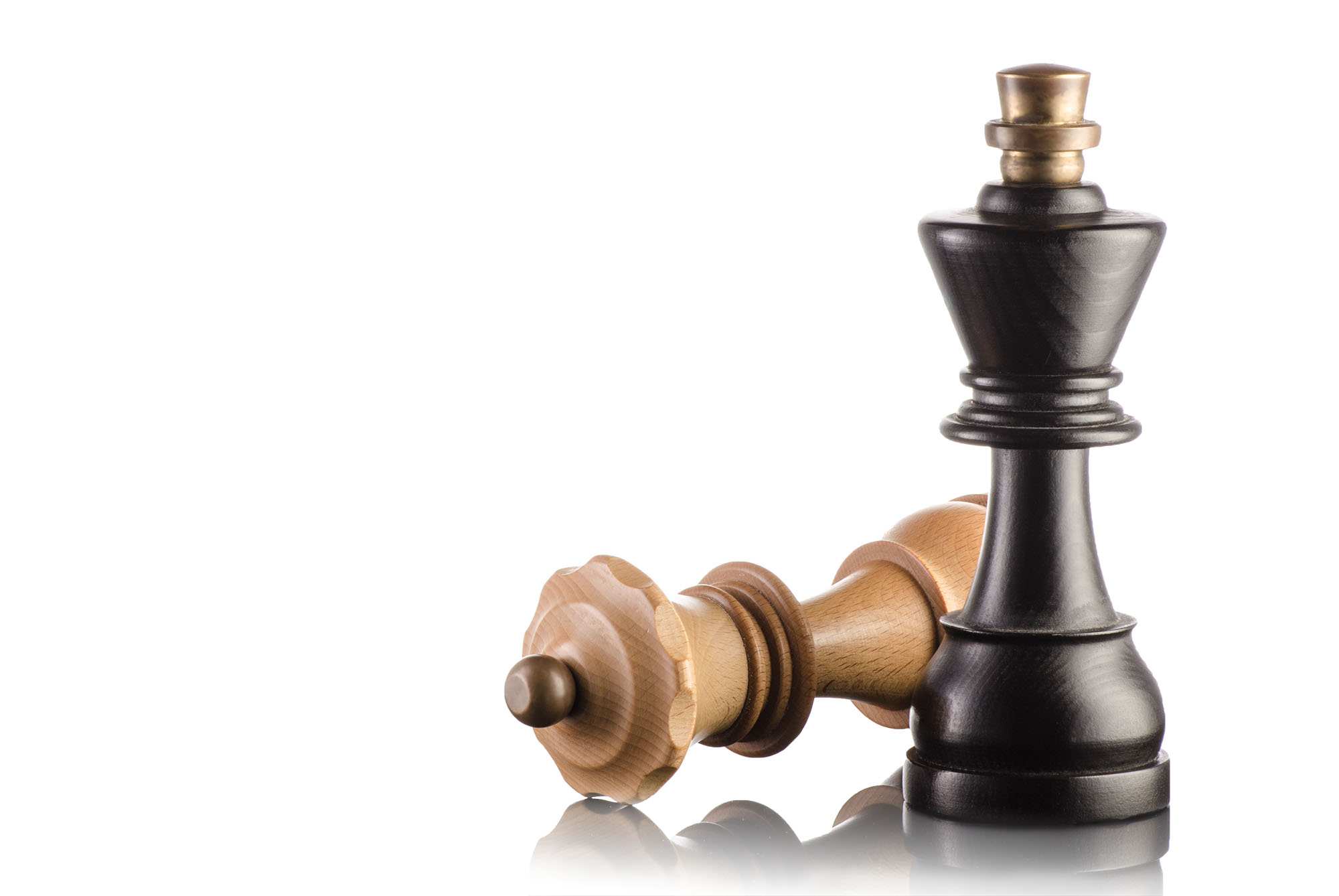 Ian Knaggs Commercial Packshot Photographer - Chess Pieces on Black