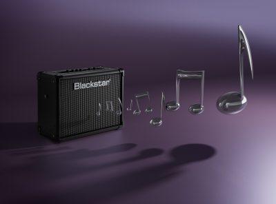Ian Knaggs Commercial Product Photographer - Blackstar Amp