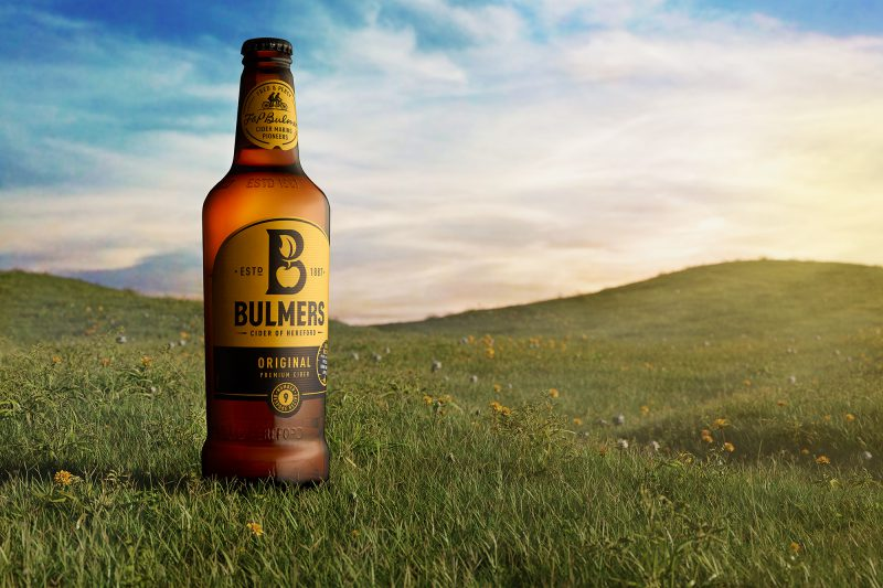 Ian Knaggs Commercial Product Photographer - Bulmers Cider Meadow