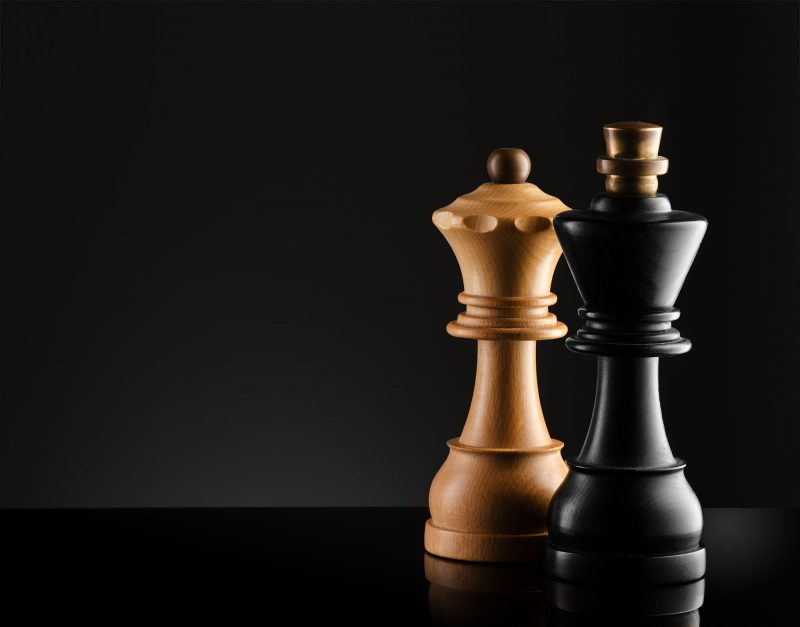 Ian Knaggs Commercial Product Photographer - Chess Pieces on Black