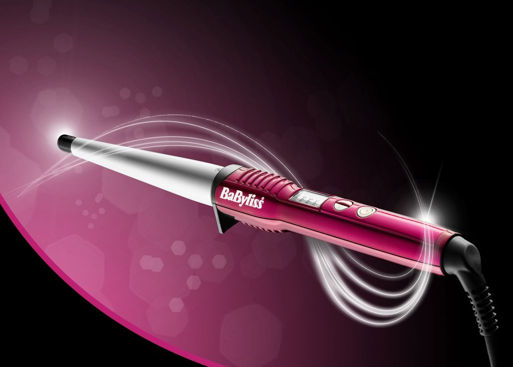 Ian Knaggs Commercial Product Photographer - BaByliss Curling Wand
