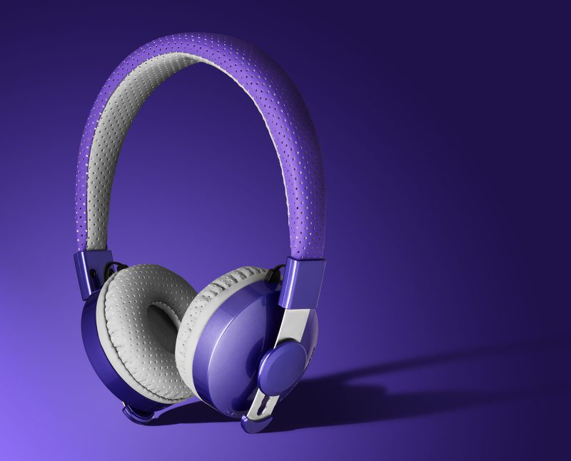 Ian Knaggs Commercial Product Photographer - Lilgadget Headphones
