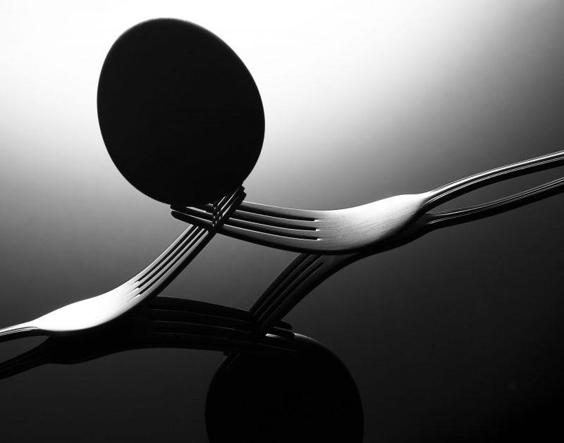 Ian Knaggs Commercial Still Life Photographer - Egg Balancing