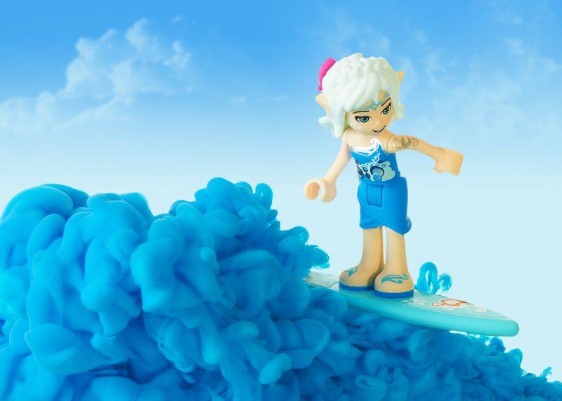 Ian Knaggs Commercial Still Life Photographer - Lego Surfer