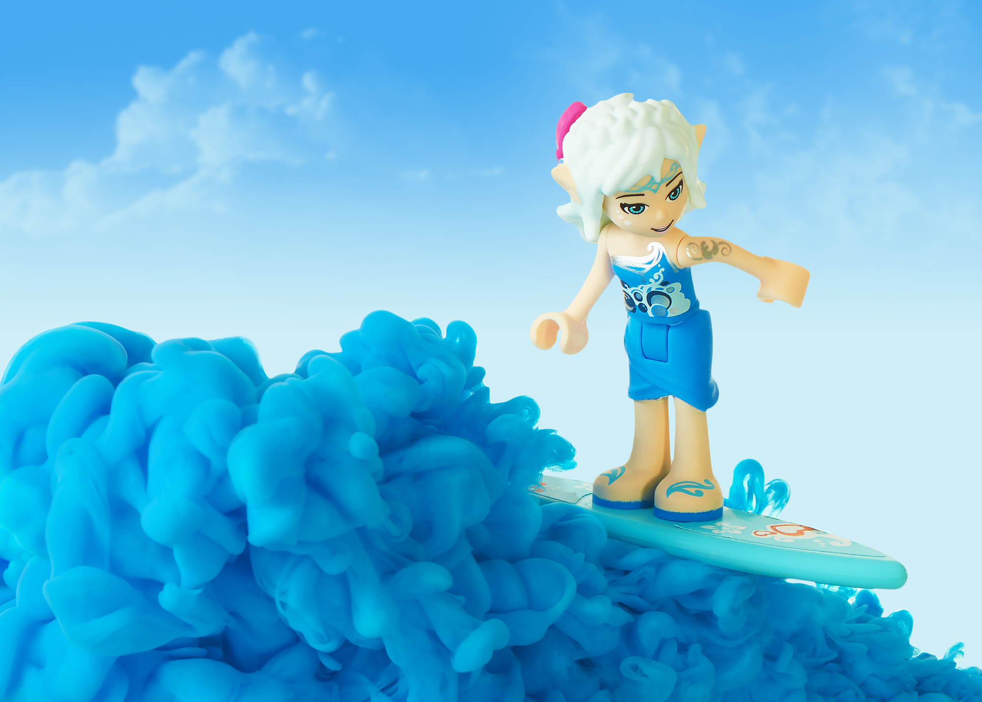 Ian Knaggs Commercial Still Life Photographer - Lego Surfer