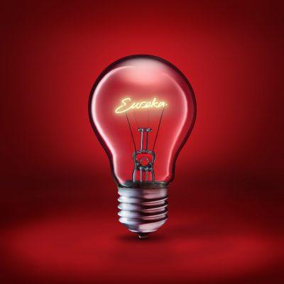 Ian Knaggs Commercial Still Life Photographer - Eureka Lightbulb Idea