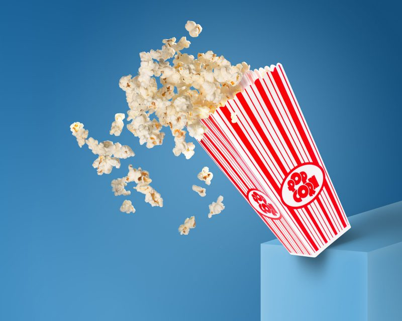 Ian Knaggs Commercial Still Life Photographer - Popcorn