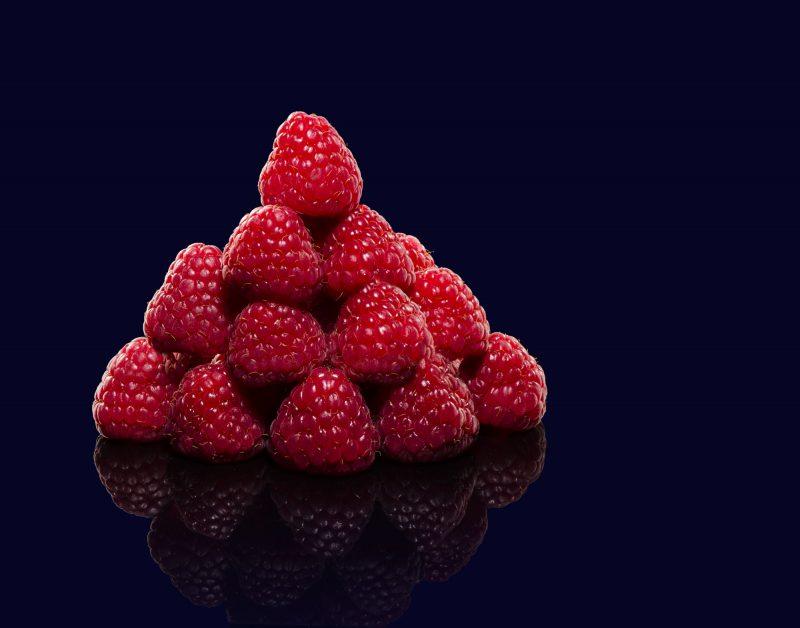 Ian Knaggs Commercial Still Life Photographer - Raspberries