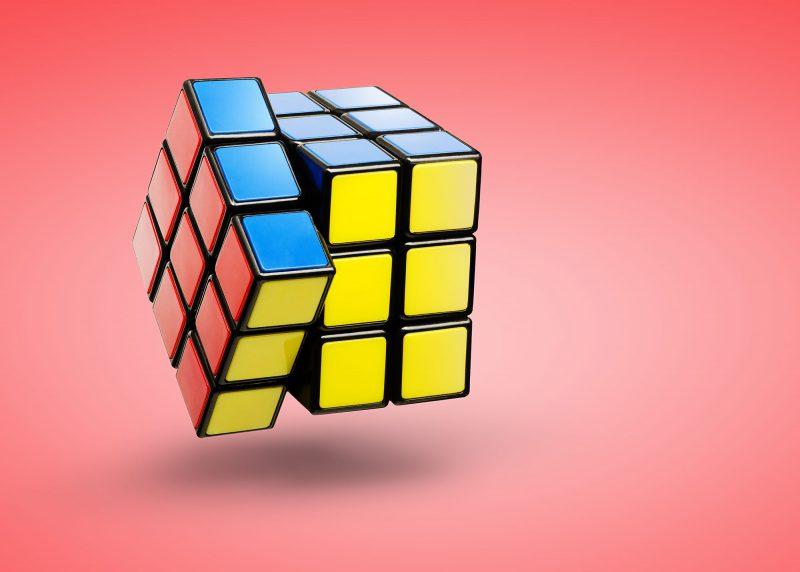 Ian Knaggs Commercial Still Life Photographer - Rubik Cube