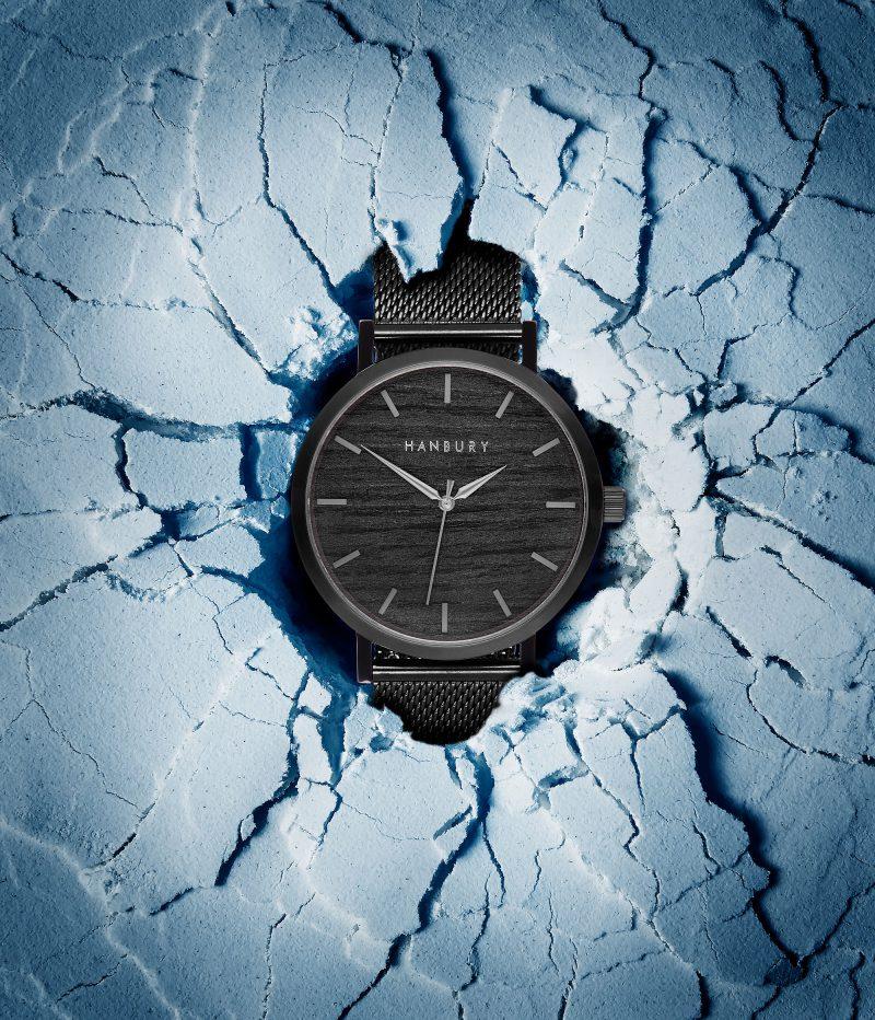 Ian Knaggs Commercial Watch Photographer - Hanbury Watch Frozen