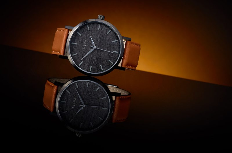 Ian Knaggs Commercial Watch Photographer - Hanbury Watch Reflection