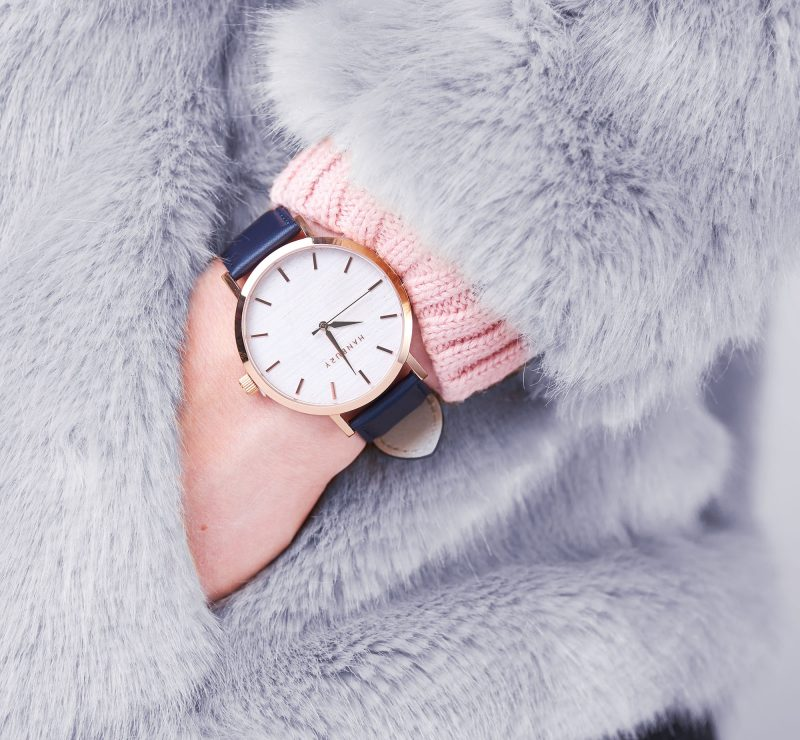 Ian Knaggs Commercial Watch Photographer - Lifestyle Watch Image With Fur