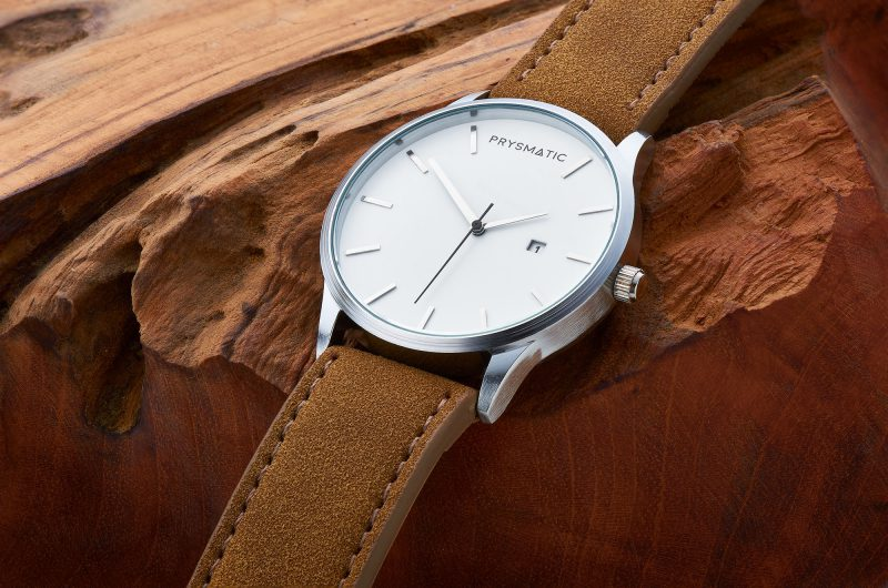 Ian Knaggs Commercial Watch Photographer - Prysmatic Watch on Wood