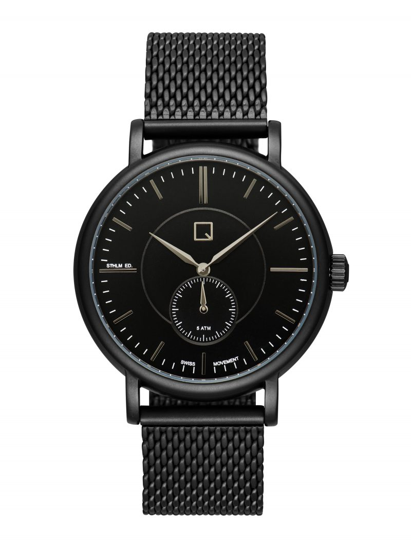 Ian Knaggs Commercial Watch Photographer - Black Watch on White