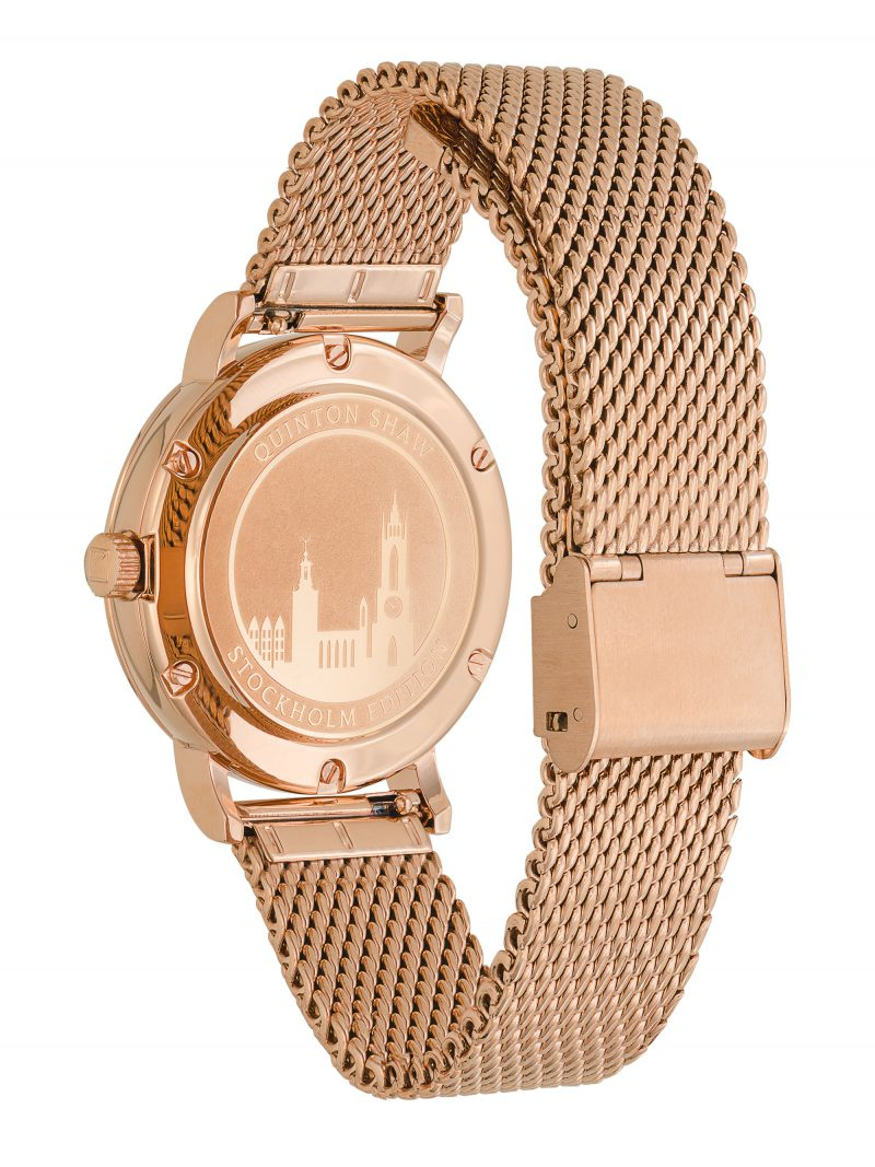 Ian Knaggs Commercial Watch Photographer - Rose Gold Watch