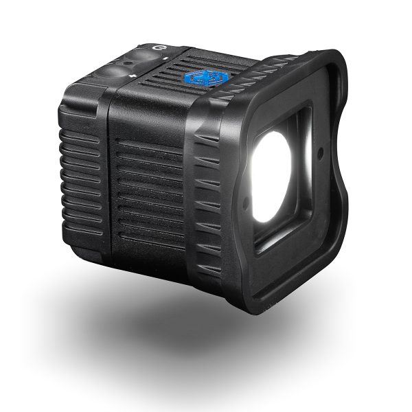 Lume cube 2 pack shot on white background with shadow