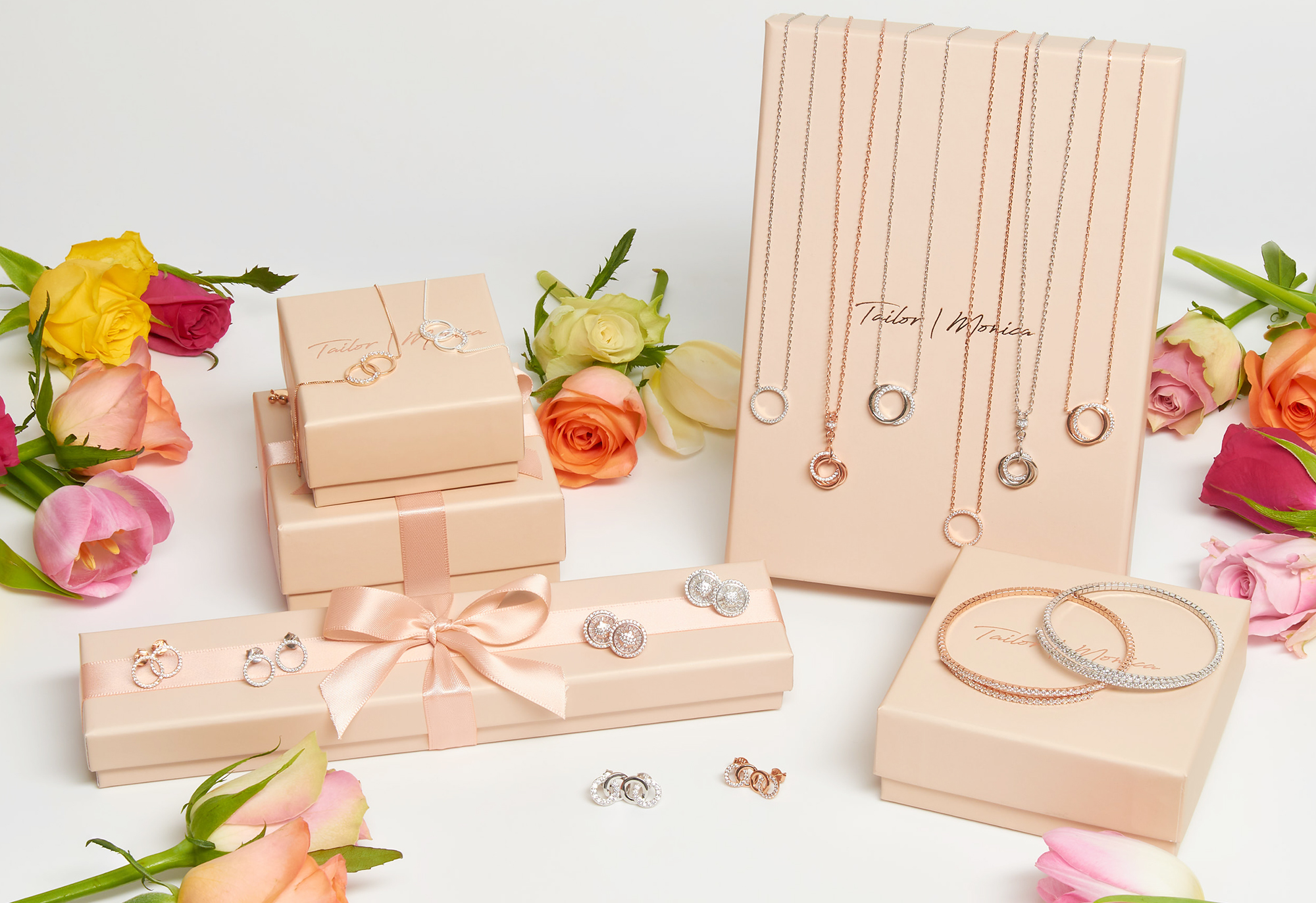 Jewellery photographed for advertising usage by professional photographer Ian Knaggs