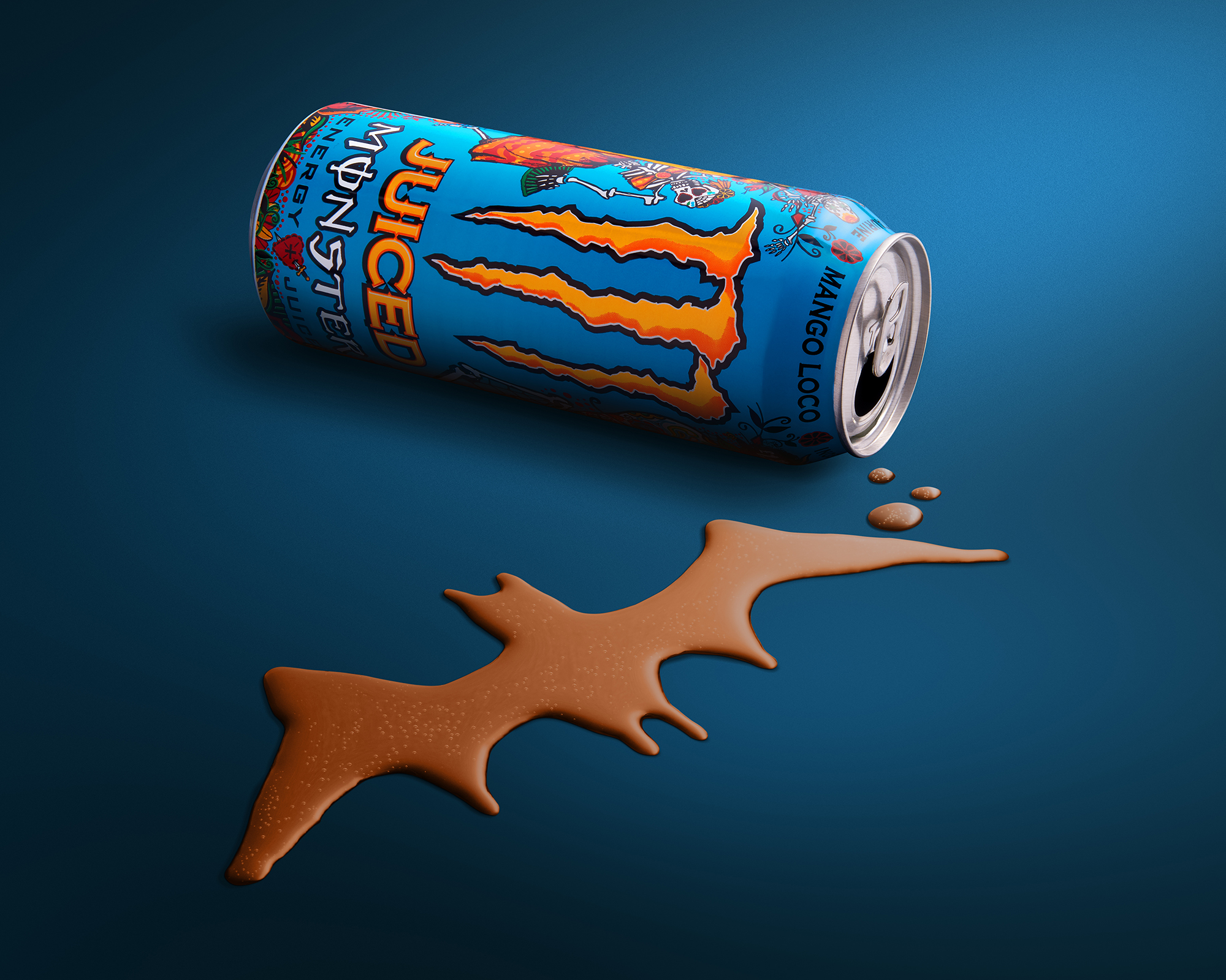 Product drink image, halloween bat by commercial photographer Ian Knaggs